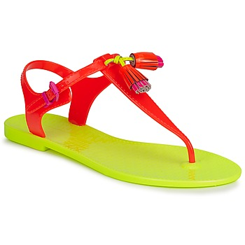 Shoes Women Sandals Juicy Couture WISP NEON ORANGE