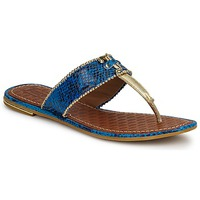 Shoes Women Sandals Juicy Couture ADELINE BRIGHT BLUE SNAKE