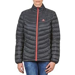 Clothing Women Duffel coats Salomon Jacket HALO DOWN JACKET W BLACK Black