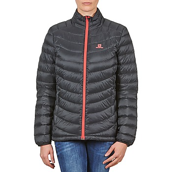 Clothing Women Duffel coats Salomon Jacket HALO DOWN JACKET W BLACK Black