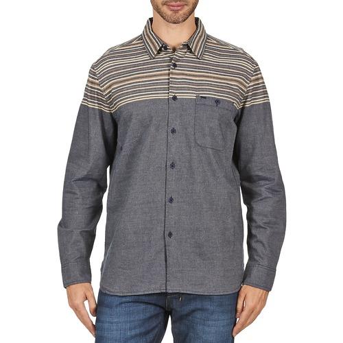 Clothing Men long-sleeved shirts Element LENOX Grey