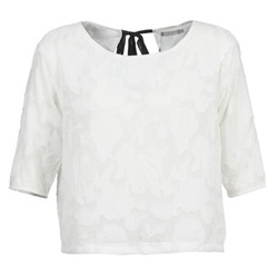 Clothing Women Tops / Blouses Betty London DEARTBEAT White