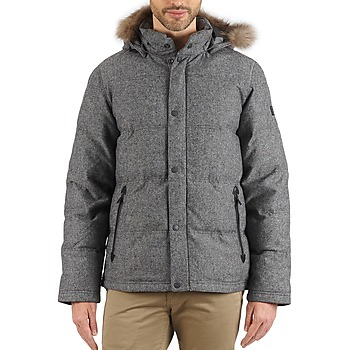 Clothing Men Duffel coats Aigle TWEEDBROOK Grey