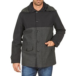 Clothing Men coats Aigle SHERPAFIELD Black / Grey