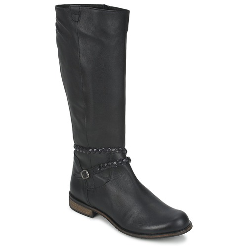 Shoes Women High boots So Size BERTOU Black
