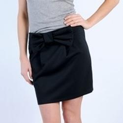 Clothing Women Skirts Tcqb JUPE SALLY NOIRE Black