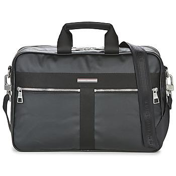 Bags Men Briefcases Tommy Hilfiger DARREBRIEFCASE Black