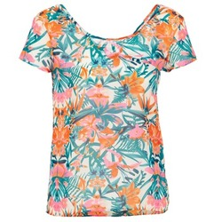 Clothing Women Tops / Sleeveless T-shirts LTB SEHITABLE Multicoloured
