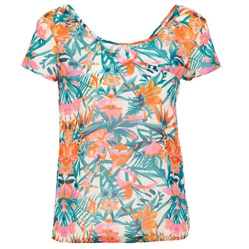 Clothing Women Tops / Sleeveless T-shirts LTB SEHITABLE Multicoloured