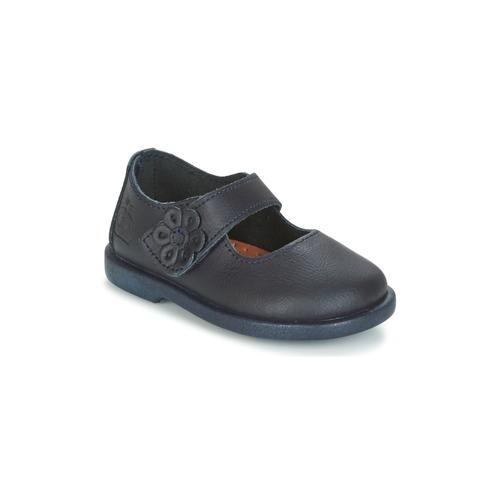 Shoes Girl Flat shoes Citrouille et Compagnie MILSO Marine