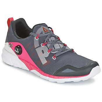 Shoes Women Running shoes Reebok Sport REEBOK ZPUMP FUSION Grey / Pink