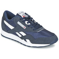 Shoes Men Low top trainers Reebok Classic CLASSIC NYLON TEAM / NAVY / Platinum