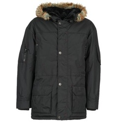 Clothing Men Parkas Casual Attitude DILAN Black
