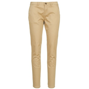 Clothing Women chinos Casual Attitude DOMINO Beige