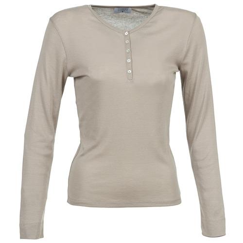 Clothing Women Long sleeved tee-shirts Casual Attitude DORINE Taupe