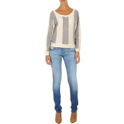 Clothing Women slim jeans Diesel GRUPEE L.32 TROUSERS Blue