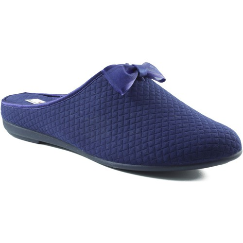 Shoes Women Slippers Vulladi square domestic shoe BLUE