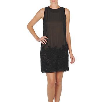 Clothing Women Short Dresses Diesel D-FRIDA DRESS Black