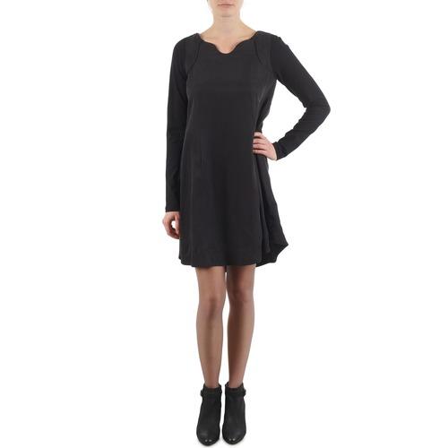Clothing Women Short Dresses Diesel D-LUNA DRESS Black