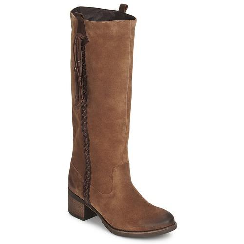 Shoes Women High boots Betty London ELOANE Brown