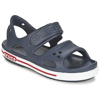 Shoes Boy Sandals Crocs CROCBAND II SANDAL PS MARINE / White