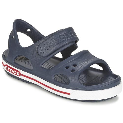 Shoes Children Sandals Crocs CROCBAND II SANDAL PS Marine / White