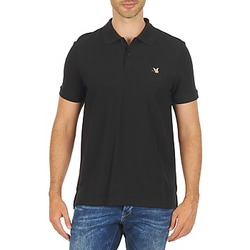 Clothing Men short-sleeved polo shirts Chevignon O DUCK Black
