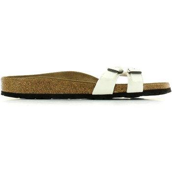 Shoes Women Sandals Birkenstock 439133 Sandals Women Weiss Weiss