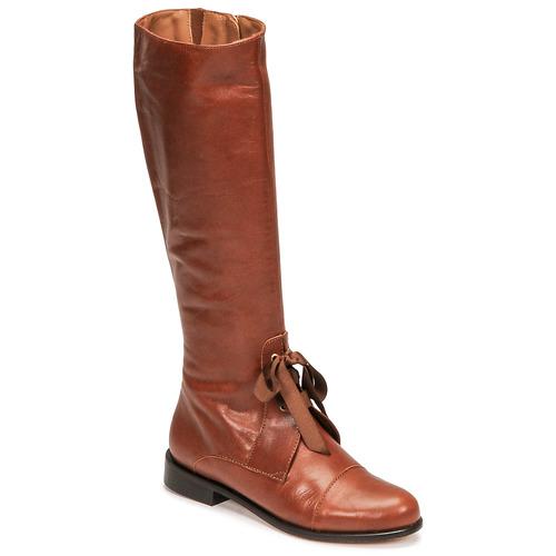 Shoes Women High boots Fericelli MAURA CAMEL