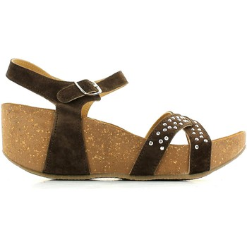 Shoes Women Sandals De Fonseca 5FVT Wedge sandals Women Brown Brown
