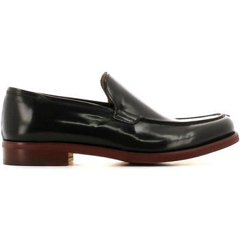 Shoes Men Loafers Fantasia U502 Mocassins Man Black Black