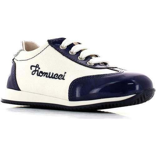 Shoes Girl Low top trainers Fiorucci FI2007D4E.A Sneakers Kid Blue Blue