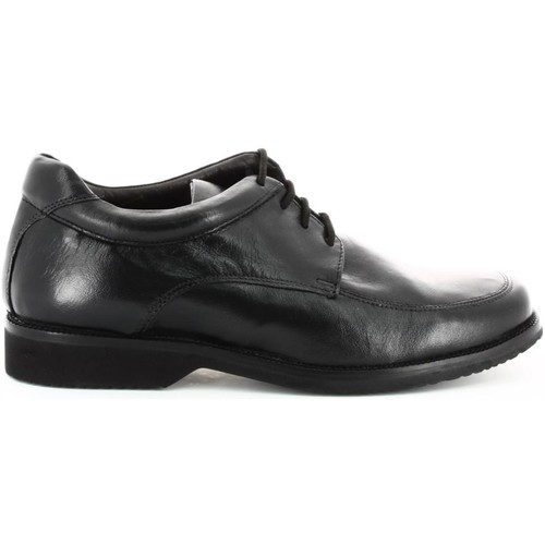 Shoes Men Walking shoes Fontana 5647-N Classic shoes Man Black Black