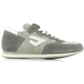 Shoes Men Walking shoes Fratelli Battaglia 1004/18 Sneakers Man Grey Grey