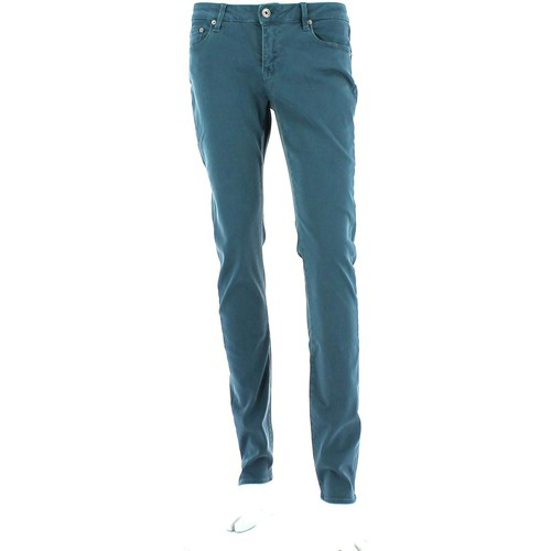 Clothing Women straight jeans Geox W3432G T2040 Jeans Women Mid ottanio Mid ottanio