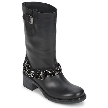 Shoes Women Mid boots Janet Sport CARYFENO Black