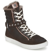 Shoes Women Hi top trainers Janet Sport MOROBRAD Brown