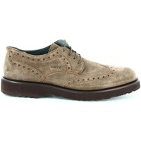 Shoes Men Walking shoes Keys 3456 Shoes with laces Man Taupe