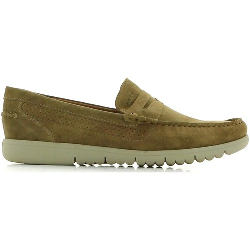 Shoes Men Loafers Keys 3736 Mocassins Man Turtledove Turtledove