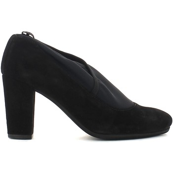 Shoes Women Heels Keys 7816 Decolletè Women Black Black