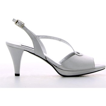 Shoes Women Sandals Louis Michel 1634 High heeled sandals Women Silver Silver