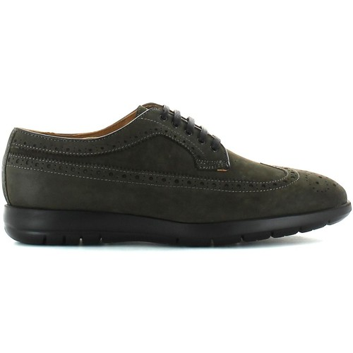 Shoes Men Walking shoes Marco Ferretti 110577 2140 Lace-up heels Man Anthracite Anthracite