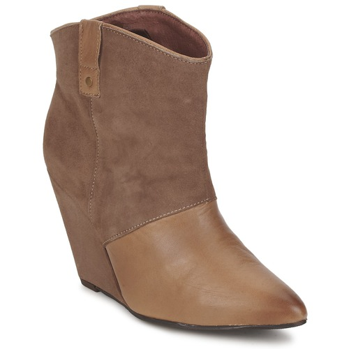 Shoes Women Mid boots Koah LIBERTY Taupe