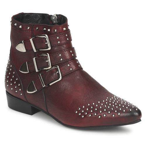 Shoes Women Mid boots Koah FYONA Bordeaux