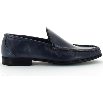 Shoes Men Loafers Lion 20681 Mocassins Man Navy Navy