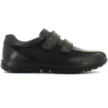 Shoes Men Walking shoes Enval 3898 Scarpa velcro Man Nero