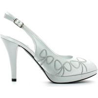 Shoes Women Sandals Grace Shoes 1880 High heeled sandals Women Silver Silver