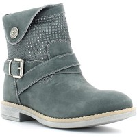 Shoes Women Mid boots Nero Giardini P530974F Ankle boots Kid Jeans