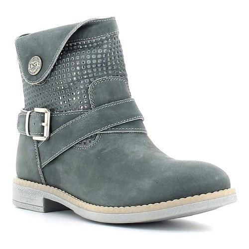 Shoes Women Mid boots Nero Giardini P530974F Ankle boots Kid Blue Blue