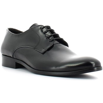 Shoes Men Brogues Rogers 1503 Elegant shoes Man Black Black